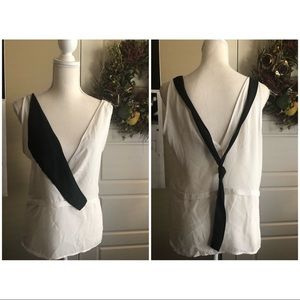 Zara Art Deco Top